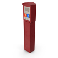 New York Police Call Box PNG & PSD Images