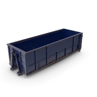 Roll Off Dumpster Dusty 30 Yard PNG & PSD Images