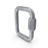 Stainless Steel Square Quick Link PNG & PSD Images