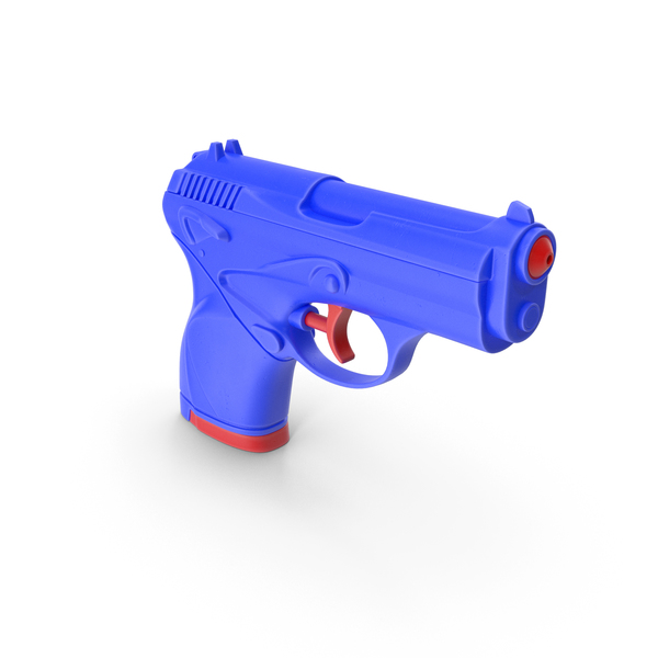 Water Gun Toy Blue PNG & PSD Images