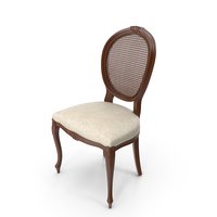 Mesh Back Classic Dining Chair PNG & PSD Images