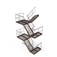External Staircase PNG & PSD Images