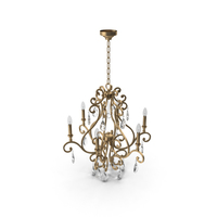 Crystorama Shelby  7526 DT Chandelier PNG & PSD Images