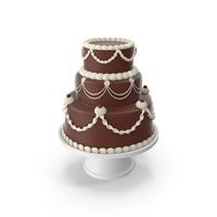 Chocolate Cascade Cake PNG & PSD Images