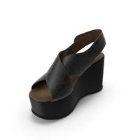 Women's Shoes Black Black PNG & PSD Images