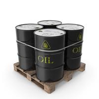 Barrels on a Pallet PNG & PSD Images