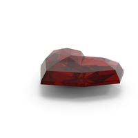 Ruby Heart PNG & PSD Images