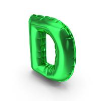 Balloons alphabet letter D PNG & PSD Images