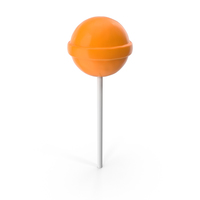 Chupa Chups Lollipop Orange PNG & PSD Images