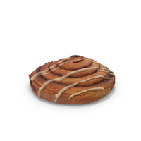 Cinnamon Swirl Pastry PNG & PSD Images