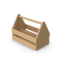Wooden Toolbox PNG & PSD Images