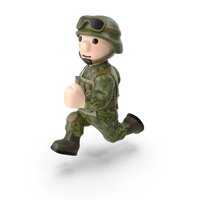 Soldier Running PNG & PSD Images