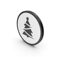 Icon Christmas Tree PNG & PSD Images