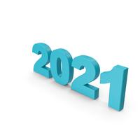 2021 Blue PNG & PSD Images