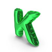 Balloons Alphabet Letter K PNG & PSD Images