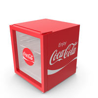 Coca Cola Mini Fridge PNG & PSD Images