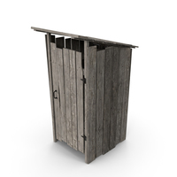 Old Wooden Outhouse PNG & PSD Images