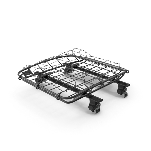 Roof Basket Thule Canyon XT with Wingbar PNG & PSD Images