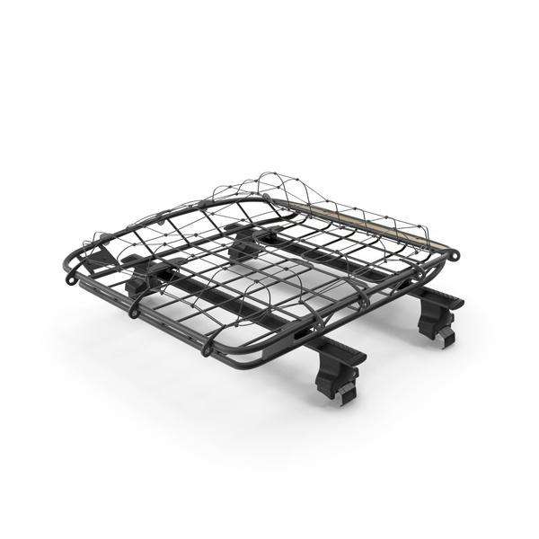 Roof Basket with Wingbar PNG & PSD Images
