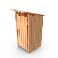 Rustic Wooden Outhouse Toilet PNG & PSD Images