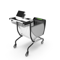 Smart Shopping Cart PNG & PSD Images