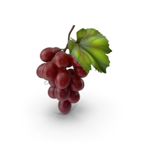 Bunch of Fresh Red Grapes PNG & PSD Images