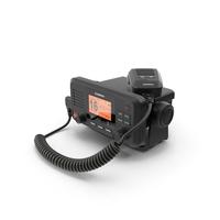 Garmin VHF 110 Fixed Mount Marine Radio PNG & PSD Images