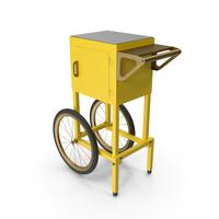 Popcorn Cart Generic PNG & PSD Images