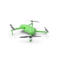 Quadcopter Aerial Drone with Gimbal Mounted Camera PNG & PSD Images