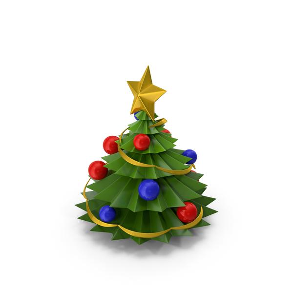 Cartoon Christmas Tree PNG & PSD Images
