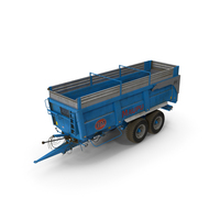 Maupu 18t Dirty Body Tipper Trailer PNG & PSD Images