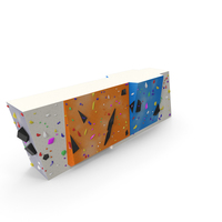 Small Bouldering Climbing Wall PNG & PSD Images