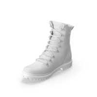Boots SWAT White PNG & PSD Images
