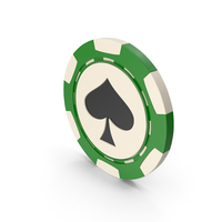 Spade Chip PNG & PSD Images