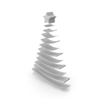 Christmas Tree Gray PNG & PSD Images
