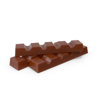 Small Pile of Rectangle Chocolate bars PNG & PSD Images