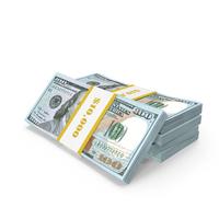 One Hundred Dollar Bills Packs PNG & PSD Images