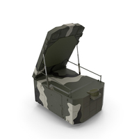 S300 Camouflage Radar Flap Lid B PNG & PSD Images