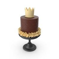 Princess Baby Chocolate Cake PNG & PSD Images