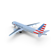 Airbus A320 American Airlines PNG & PSD Images