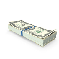 Stack of Two Dollar Bills PNG & PSD Images
