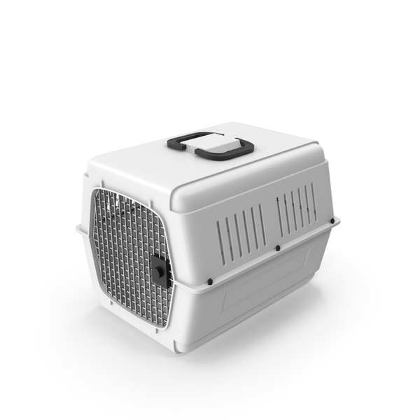 Pet Carrier White PNG & PSD Images