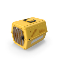 Pet Carrier Yellow PNG & PSD Images