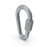 Stainless Steel Pear Quick Link PNG & PSD Images