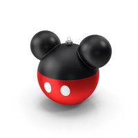 Mickey Mouse Christmas Ball PNG & PSD Images