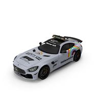 Mercedes AMG GTR FIA F1 Safety Car 2020 PNG & PSD Images