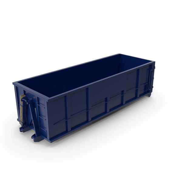 Roll Off Dumpster Container 30 Yard PNG & PSD Images