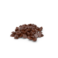 Pile of Mini Chocolate Candies PNG & PSD Images