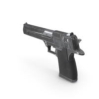 Worn Pistol PNG & PSD Images