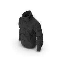 Black SWAT Jacket Black PNG & PSD Images